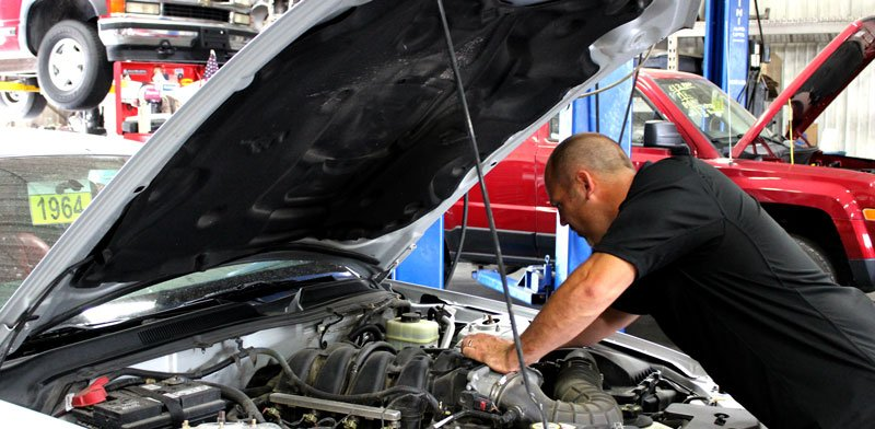 working-on-car